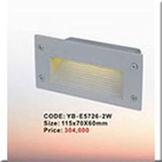 Đèn Âm Cầu Thang  KP1 YB-E5726-2W 115x70x60