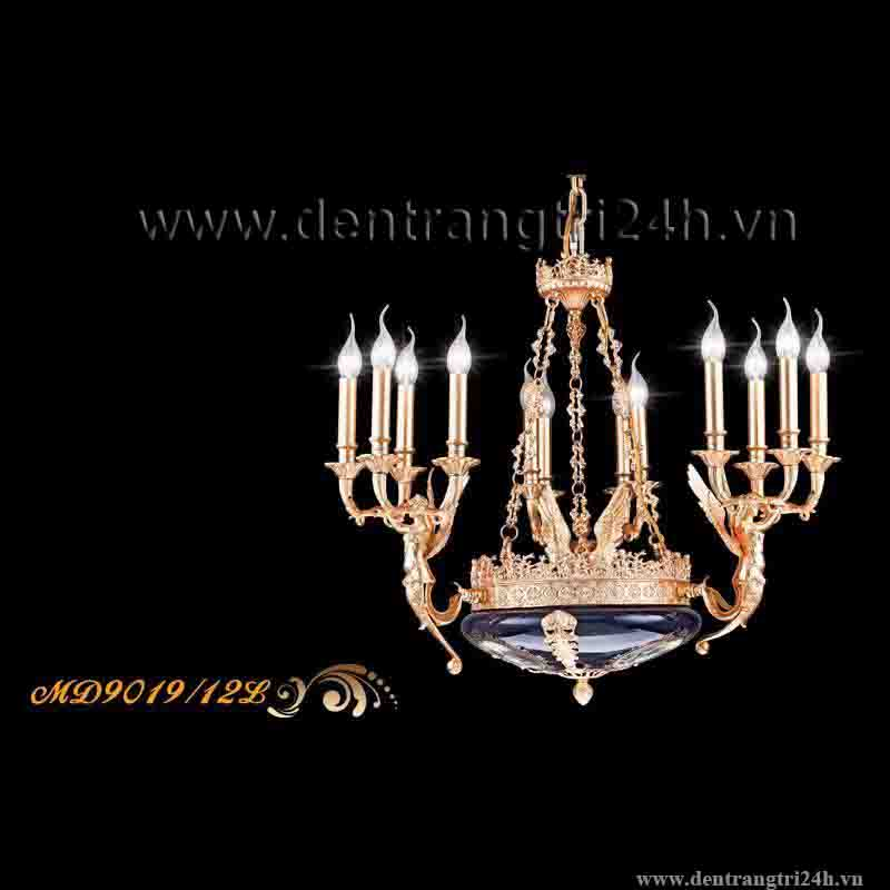 Đèn Chùm Nến Cổ Điển PT5 CNQT04A-20 Ø850