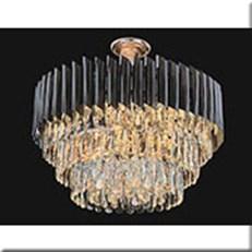 Đèn Trần Pha Lê KP4 D8010/600 Ø600xH350