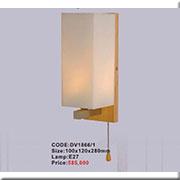 Đèn Tường Gỗ KP2 DV1866/1 100x120x280