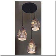Đèn Thả Bàn Ăn KP5 1938-3 Ø420x1000