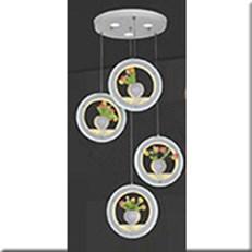 Đèn Thả LED KP5 8651 Ø300x1000