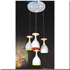 Đèn Thả LED KP5 DCT-611A-4 Ø300x1000