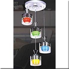Đèn Thả LED KP5 DCT-H5097-4 Ø300x1000