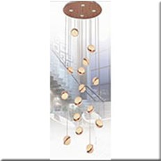 Đèn Thả Thông Tầng IW1 1907-15 Ø600xH2500