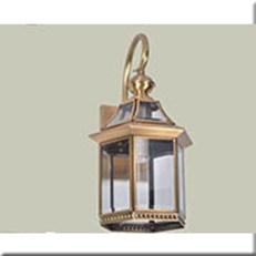 Đèn Tường Đồng IW1 B6105 200x200x380