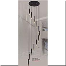 Đèn Thả Thông Tầng IW1 1903-12 Ø500xH2500