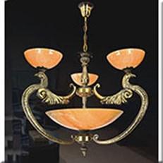 Đèn Chùm Đồng Đá IW1 1025-3 Ø800xH700