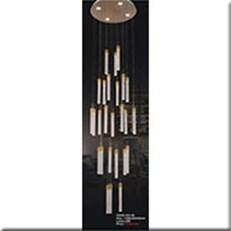 Đèn Thả Thông Tầng IW1 953-28 Ø600xH2500
