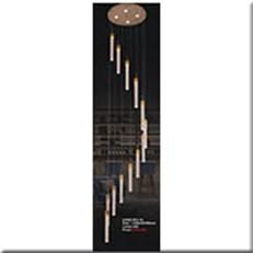Đèn Thả Thông Tầng KP4 953-12 Ø450xH2500
