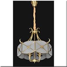 Đèn Thả Đồng IW1 D6702-4 Ø550x520