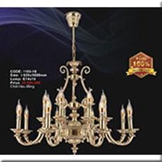 Đèn Chùm Nến Đồng IW1 1180-16 Ø820xH600