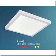 Đèn LED Ốp Nổi HP4 PN-03 600x600