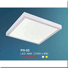 Đèn LED Panel Ốp Nổi HP1 PN-03 600x600