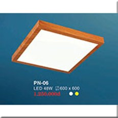 Đèn LED Panel Ốp Nổi HP2 PN-06 600x600