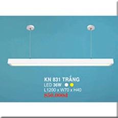 Đèn Thả Bóng Tuýp HP3 KN 831 TRẮNG 36W L1200xW70xH40