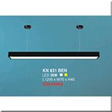Đèn Thả Bóng Tuýp HP3 KN 831 ĐEN 36W L1200xW70xH40