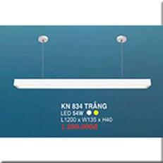 Đèn Thả Bóng Tuýp HP3 KN 834 TRẮNG 54W L1200xW135xH40