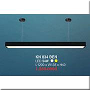 Đèn Thả Bóng Tuýp HP3 KN 834 ĐEN 54W L1200xW135xH40