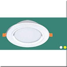 Đèn LED Âm Trần 1 Màu HP3 AB 05 LED 7W Ø120xH40, khoét lỗ Ø90