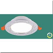 Đèn LED Âm Trần 3 Màu HP3 AB 08 LED 7W Ø120xH40, khoét lỗ Ø90