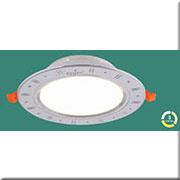 Đèn LED Âm Trần 3 Màu HP3 AB12 LED 9W Ø150xH40, khoét lỗ Ø120