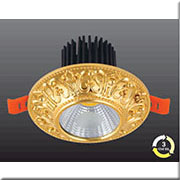 Đèn LED Âm Trần 3 Màu HP3 AT 23 LED 5W Ø100xH60, khoét lỗ Ø65