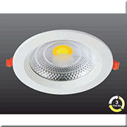 Đèn LED Âm Trần 3 Màu HP3 AKCOB07 -7W Ø130xH50, khoét lỗ Ø105