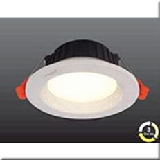 Đèn LED Âm Trần 3 Màu HP3 AT17 -7WØ110xH47, khoét lỗ Ø85