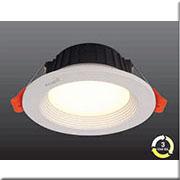 Đèn LED Âm Trần 3 Màu HP3 AT18 -9W Ø118xH48, khoét lỗ Ø95