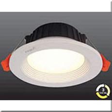 Đèn LED Âm Trần 3 Màu HP3 AT19 -12W Ø142xH52, khoét lỗ Ø120