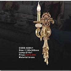 Đèn Tường Đồng KP1 9284/1 Ø160x500