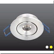 Đèn LED Âm Trần 1 Màu HP3 AT46 -1W Ø45