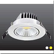Đèn LED Âm Trần 1 Màu HP3 AT47 - 5W Ø90xH50, khoét lỗ Ø70