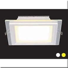 Đèn LED Âm Trần 1 Màu HP3 AT54 -9W Ø130xH40, khoét lỗ Ø100