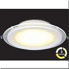 Đèn LED Âm Trần 3 Màu HP3 AT57 -6W Ø90xH40, khoét lỗ Ø70