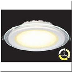 Đèn LED Âm Trần 3 Màu HP3 AT58 -9WØ130xH40, khoét lỗ Ø100
