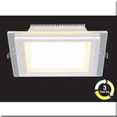 Đèn LED Âm Trần 3 Màu HP3 AT61 -6W Ø90xH40, khoét lỗ Ø70