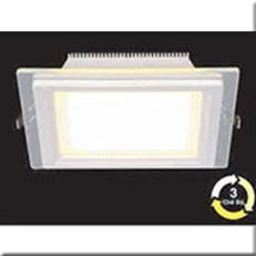 Đèn LED Âm Trần 3 Màu HP3 AT62 -9w Ø130xH40, khoét lỗ Ø100