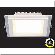 Đèn LED Âm Trần 3 Màu HP3 AT64 -18w Ø200xH40, khoét lỗ Ø170