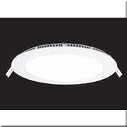 Đèn LED Âm Trần 1 Màu HP3 AT67- 6W Ø120xH15, khoét lỗ Ø100