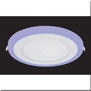 Đèn LED Âm Trần 3 Màu HP3 AT-87 Ø105xH20, khoét lỗ Ø70
