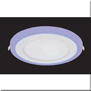 Đèn LED Âm Trần 3 Màu HP3 AT-88 Ø145xH20, khoét lỗ Ø110