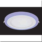 Đèn LED Âm Trần 3 Màu HP3 AT-89 Ø190xH20, khoét lỗ Ø160