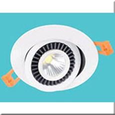 Đèn LED Âm Trần 1 Màu HP3 AT-93 Ø70xH30, khoét lỗ Ø55