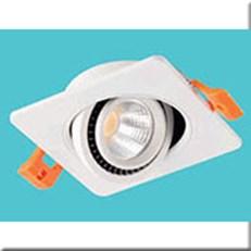 Đèn LED Âm Trần 1 Màu HP3 AT-94 Ø70xH30, khoét lỗ Ø55