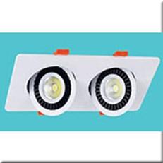 Đèn LED Âm Trần 1 Màu HP3 AT-96 230x120xH30, khoét lỗ Ø190xH95