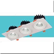Đèn  Âm Trần HP3 AT-104 L250xW92xH55, khoét lỗ Ø75x230