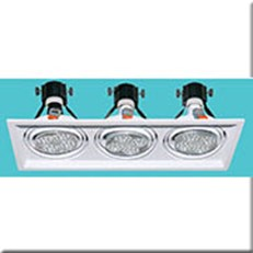 Đèn  Âm Trần HP3 AT-107 L480xW180xH140, khoét lỗ Ø460x160
