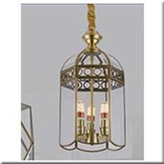 Đèn Thả Đồng KP1 D9035/3 Ø230x450